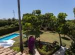 Villa El Bocho - Vista jardin
